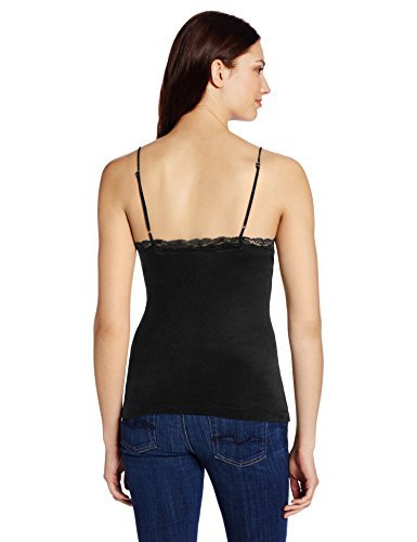 Only Hearts-Organic Cotton Cami -Black