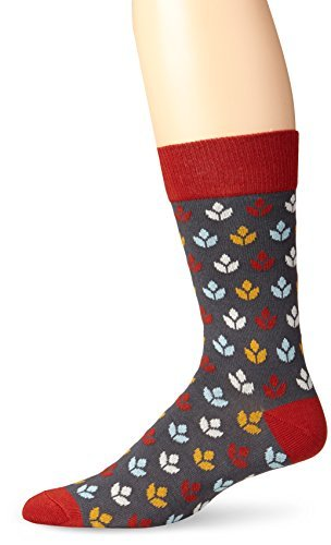 Pact-PACT Men's Combine Crew Sock, Granite, One Size