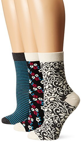 PACT-Vine Crew Sock Gift Box - 3 pack