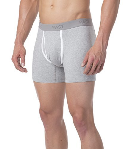 Pact-Men's Boxer Brief Two Pack