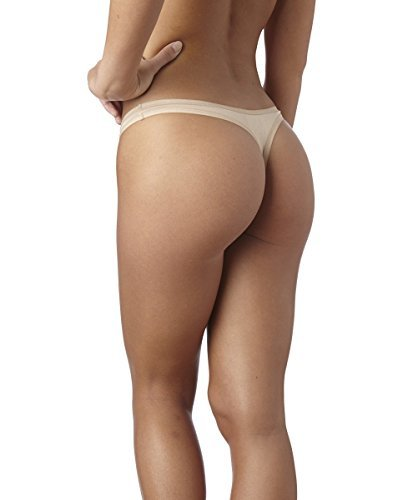 Pact-Everyday Thong 2-Pack, Nude
