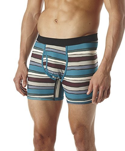 Pact-PACT Men's Organic Cotton Boxer Brief - SFA-MBB (Small, Route 66)