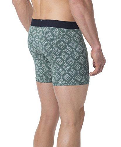 PACT-PACT Men's Super Soft Organic Men's Boxer Brief - SA1-MBB (Small, Pinyon)