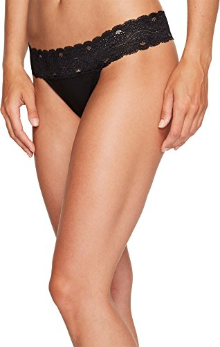 Pact-Lace-Waist Thong 4-Pack