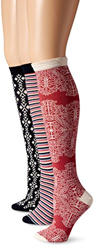 Pact-Ikat Knee Sock Three-Pack Boxed Set