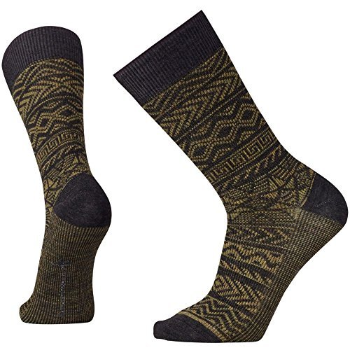 SmartWool-Backcountry Cabin Crew Sock - Loden Heather