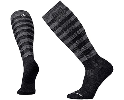 SmartWool-Smartwool PhD Slopestyle Light Ifrane Socks (Charcoal) Medium