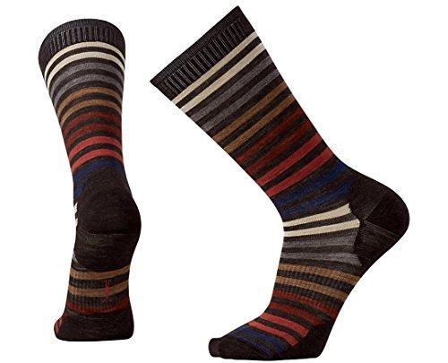 SmartWool-Smartwool Men's Spruce Street Crew Socks (Chestnut) Medium