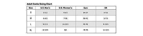 SmartWool-SmartWool Women's PhD Run Light Elite Striped Micro Socks (Black) Large