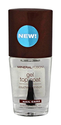 Mineral Fusion-Nail Polish Gel Top Coat Mineral Fusion 0.33 Liquid