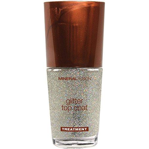Mineral Fusion-Glitter Top Coat Nail Polish