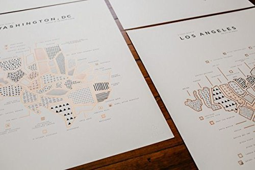 ROAM by 42 Pressed-42 Pressed Paris Map