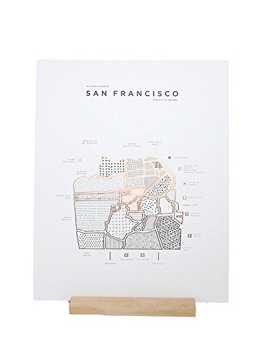 ROAM by 42 Pressed-ROAM by 42 Pressed San Francisco Map