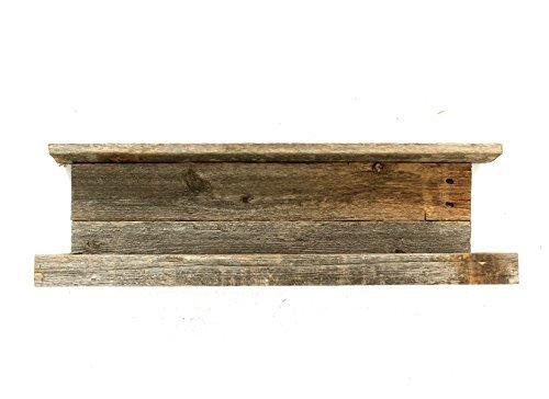 BarnwoodUSA-Rustic Barnwood Shelf