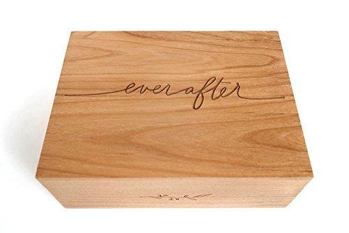 Cardtorial-Ever After Laser Cut Wood Keepsake Box