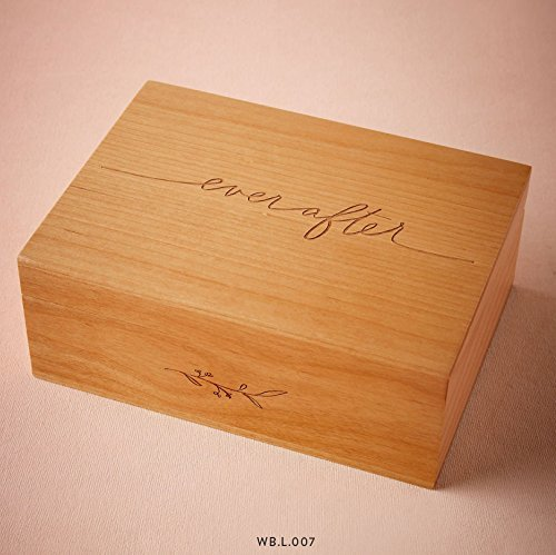Cardtorial-Ever After Laser Cut Wood Keepsake Box
