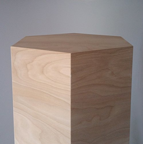 Centerpiece Box-Hexagonal Riser Pedestal Plinth Display Stand