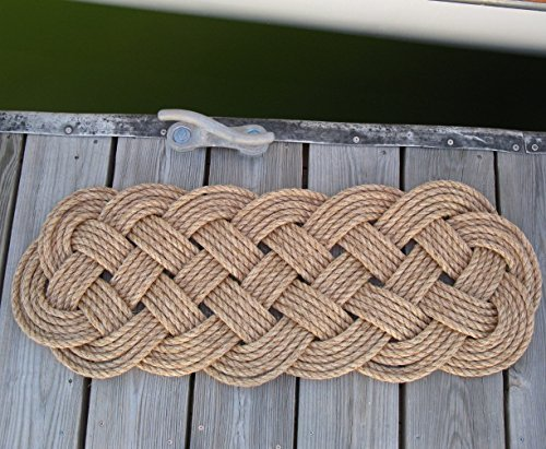 Mystic Knotwork-Manila Door Mat Rug Prolong Knot 5 Pass