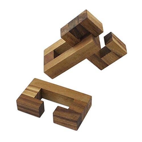 NOVICA-Decorative Wooden Games Puzzles