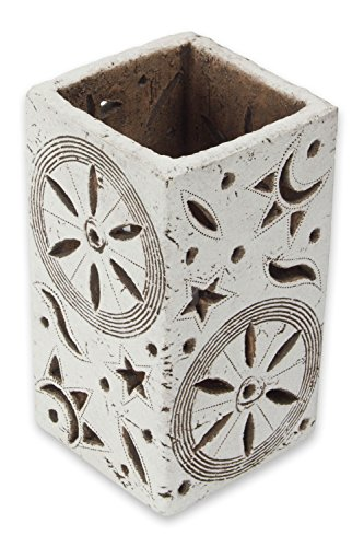 NOVICA-Rustic Ceramic Accent Lamp
