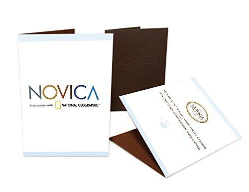 NOVICA-Celadon Ceramic Vase - Green Classic Green