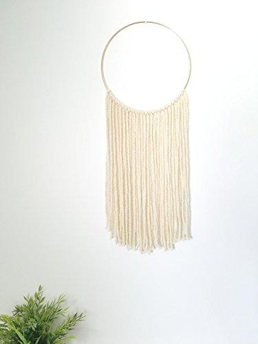 Indie Littles-Yarn Wall Hanging- Cream