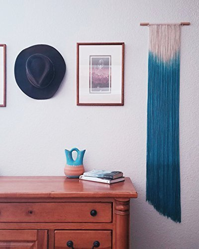 Roxanne's Workshop-Dip dye wall hanging