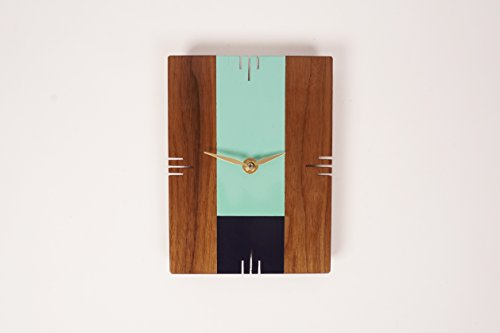 Son of a Sailor-Oscar Wall Clock Seafoam & Indigo