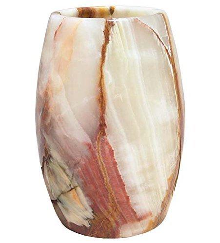 Ten Thousand Villages-Translucent Onyx Table Lamp