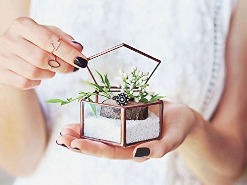 Waen-Geometric Wedding Ring Box