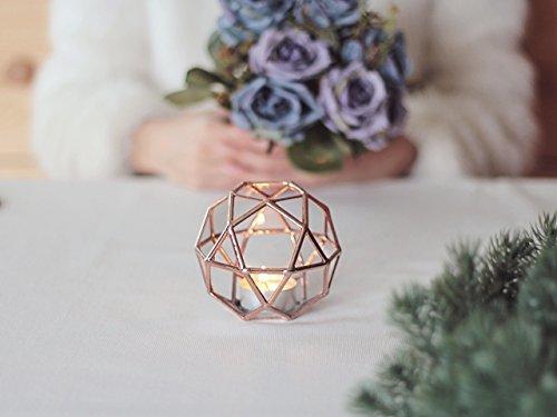 Waen-Glass Geometric Candle Holder