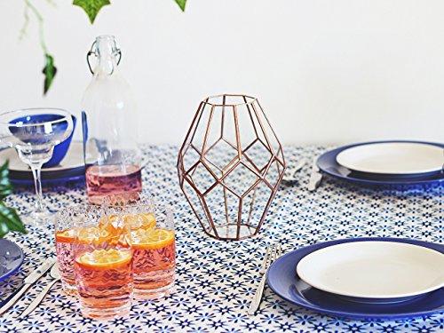 Waen-Glass Geometric Vase