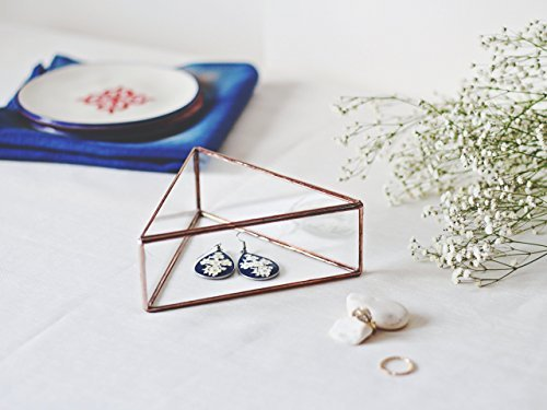 Waen-Glass Geometric Jewelry Box