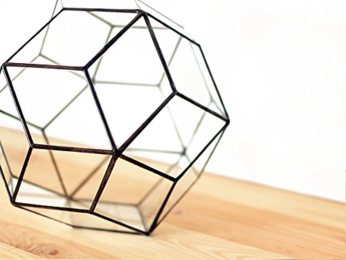 Waen-Large Glass Terrarium Container