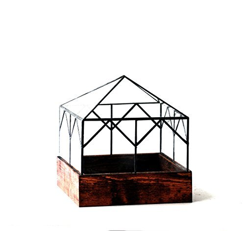 LeadHeadGlass-Glass Terrarium Cottage
