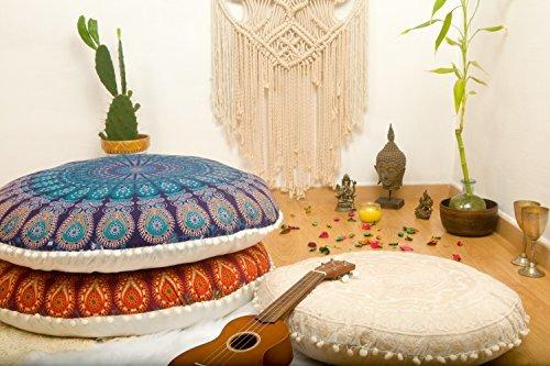 Mandala Life ART-Bohemian Decor Floor Cushion Cover