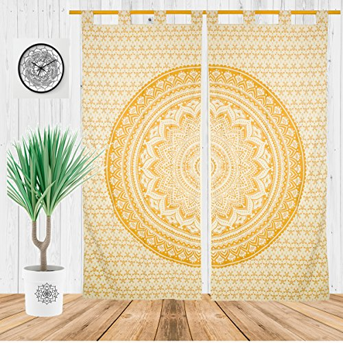 Misc Items-Bohemian Decor Indian Mandala Curtains