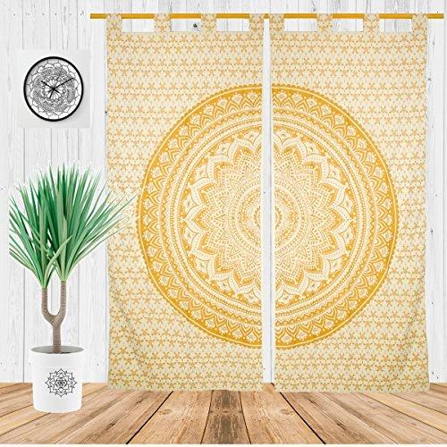 Misc Items-Bohemian Decor Indian Mandala Curtains