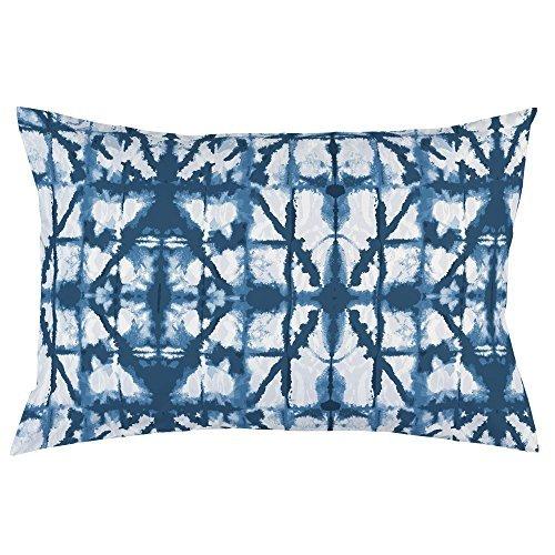 Carousel Designs-Indigo Blue Shibori Pillow Case