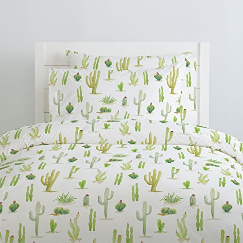 Carousel Designs-Watercolor Cactus Pillow Case