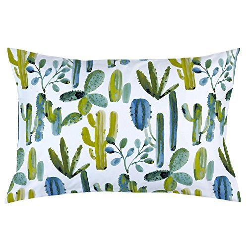 Carousel Designs-Charcoal Painted Cactus Pillow Case