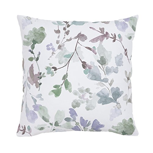Carousel Designs-Soft Wildflower Throw Pillow 18-Inch Square