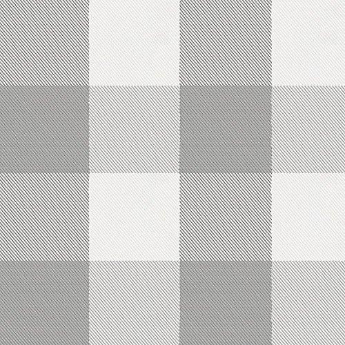 Carousel Designs-Gray Buffalo Check Pillow Case