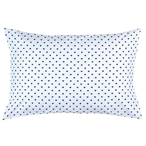 Carousel Designs-Ocean Blue Hearts Pillow Case