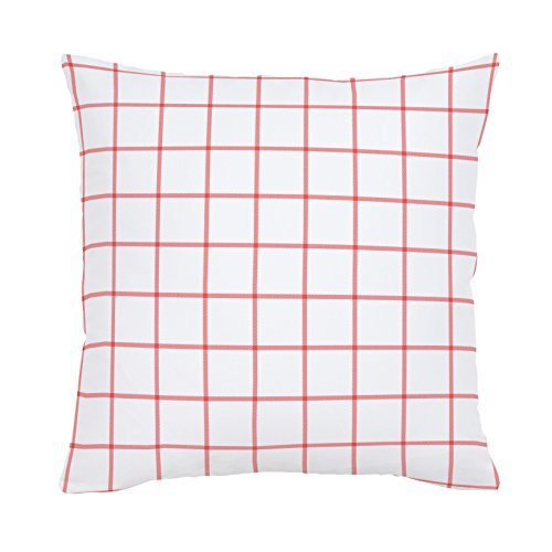 Carousel Designs-Windowpane Organic Throw Pillow
