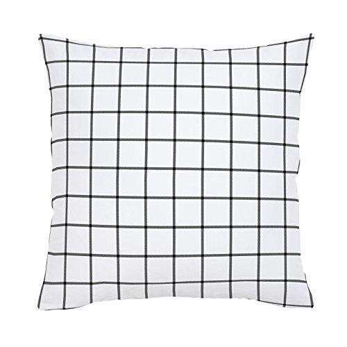 Carousel Designs-Windowpane Organic Throw Pillow