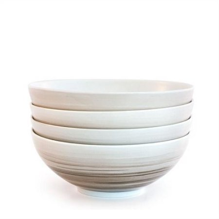 Bambeco-4 piece Dakota Birch Cereal Bowl
