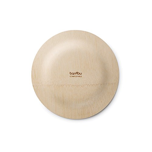 Bambu-Veneerware Disposable Plates - Package of 8