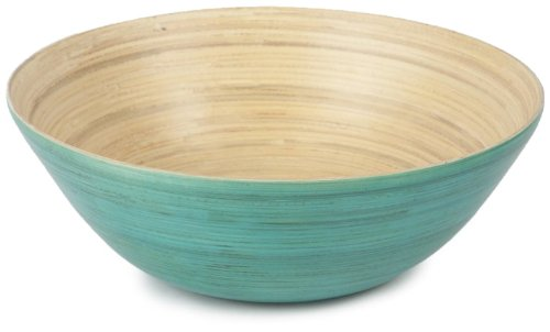 Core Bamboo-Core Bamboo Modern Round Bowl Extra Large in Teal