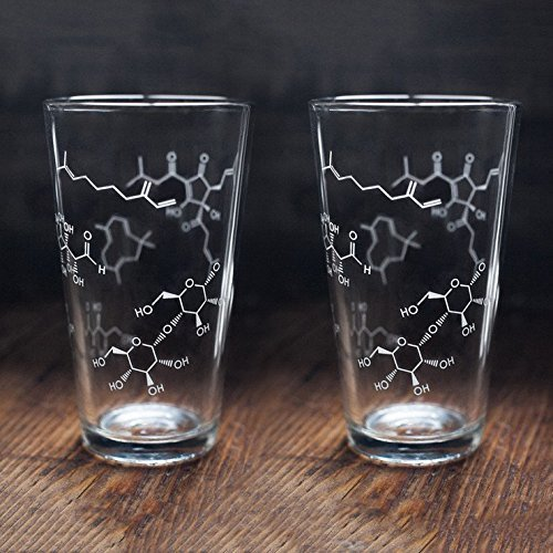 Cognitive Surplus-Beer Chemistry Pint Glasses - Set of 2